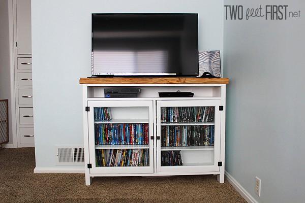 build a tv console