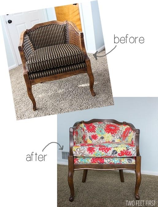 diy barrel Chair