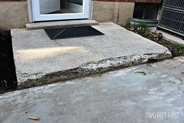 repair concrete steps