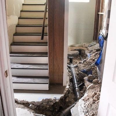 replace plumbing