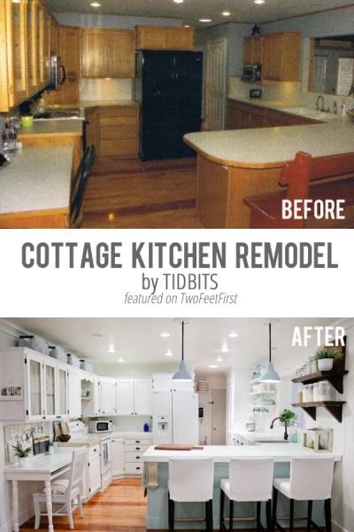 Remodel Love – Cottage Kitchen By TIDBITS