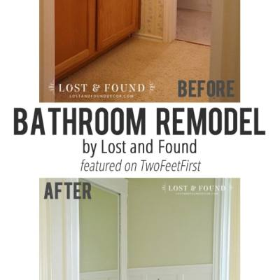 Remodel Love – Bathroom Update by Lost and Found