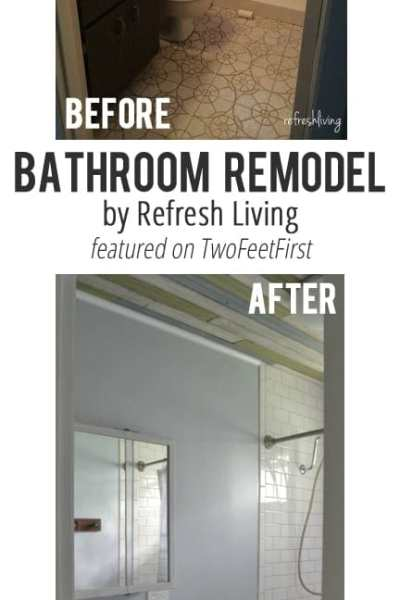 Remodel Love – Bathroom Makeover by Refresh Living