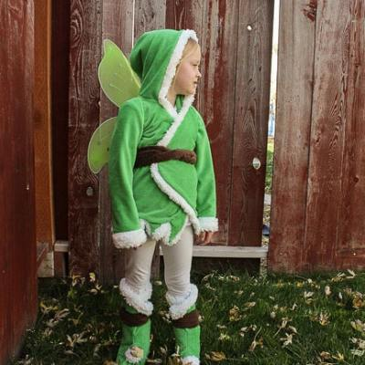 how to make a tinkerbell costume
