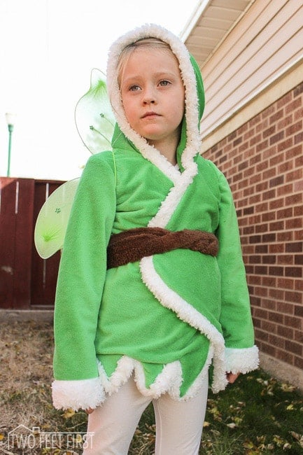 girl tinkerbell costume