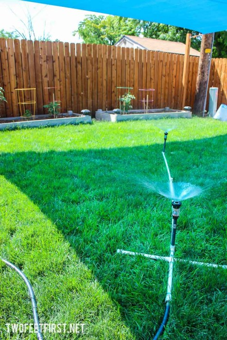 How to Build a Simple Sprinkler