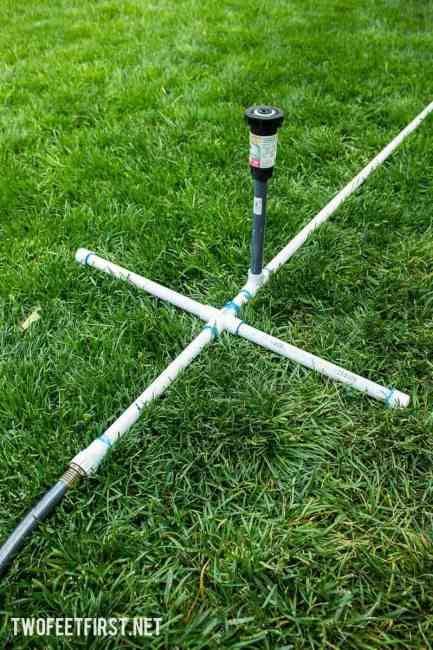 Build a Simple Sprinkler with PVC
