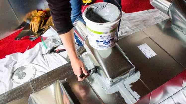 Install a Trunk Line for HVAC