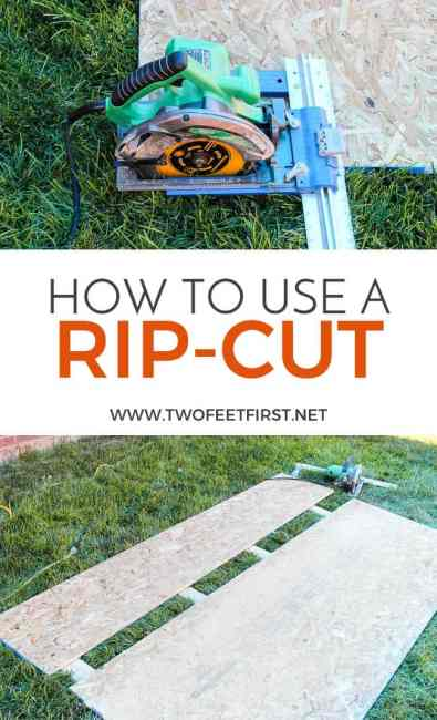 How to use a Kreg Rip-Cut the easy way!