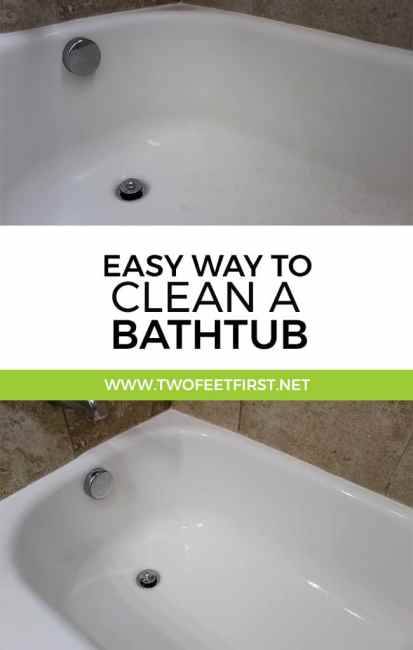 Have a love/hate relationship with cleaning... especially if I have to scrub. Well, here an easy way to clean a bathtub without scrubbing.