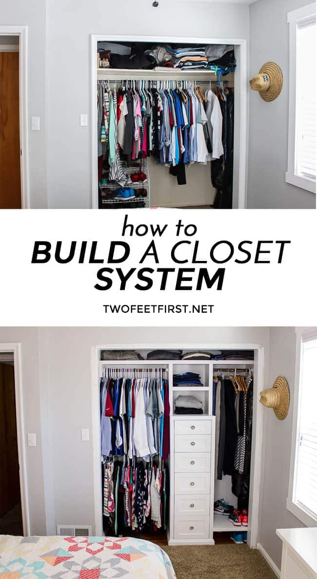 how to build a closet system the plans. Black Bedroom Furniture Sets. Home Design Ideas