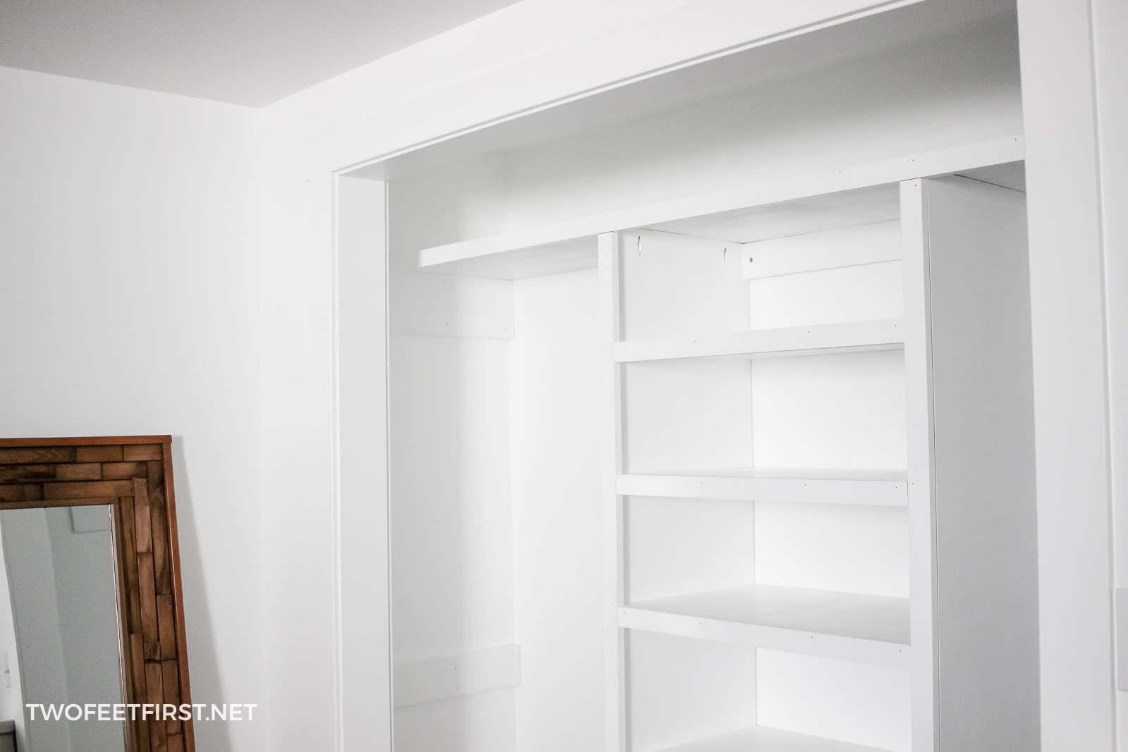 shelving for closet