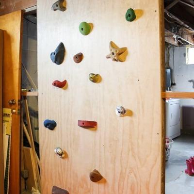 Build a Kids Climbing Wall