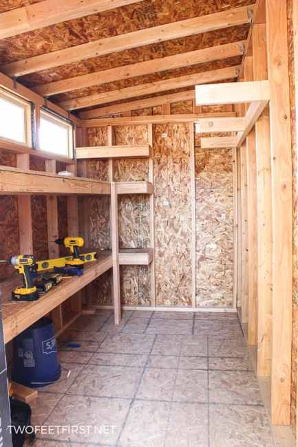 How to build storage shelves - Are you looking for a storage solution in your shed or garage? Well, I have an easy way to build storage shelves for either the garage, shed, or maybe a storageroom.