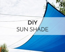 How to install a sun shade in your backyard