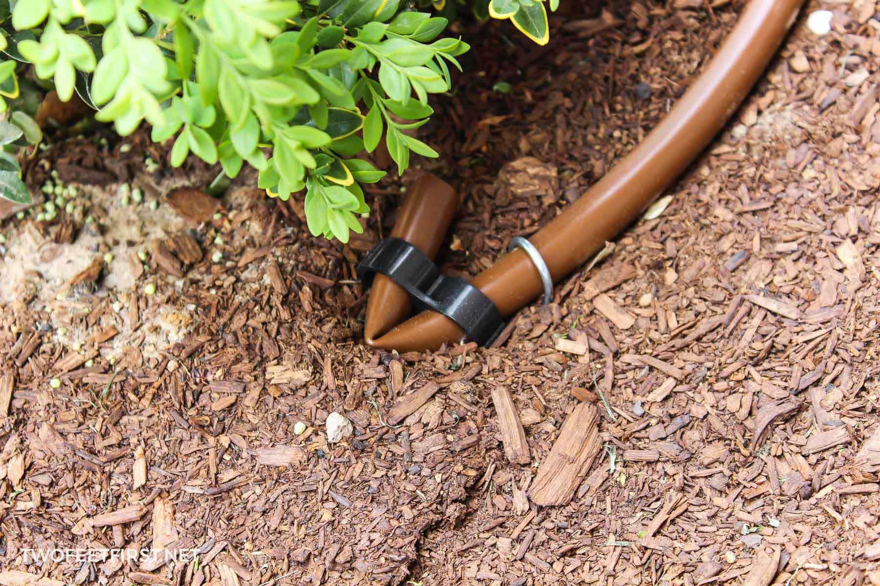 end of drip irrigation system