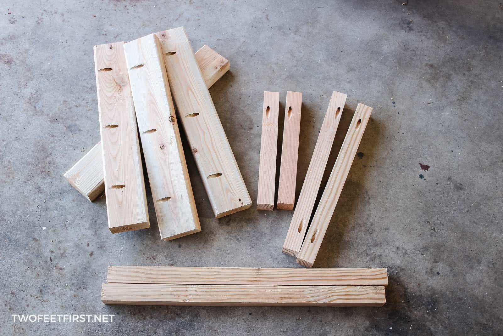wood to build laptop desk