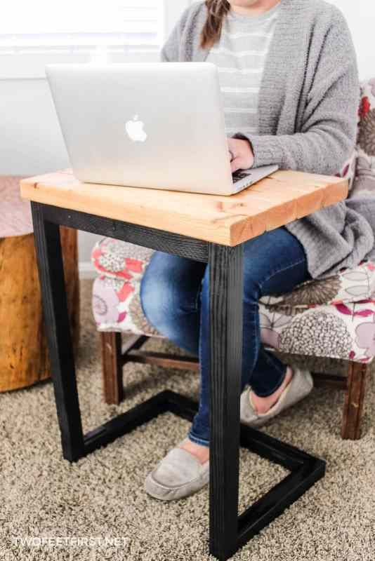 handmade laptop desk for couch
