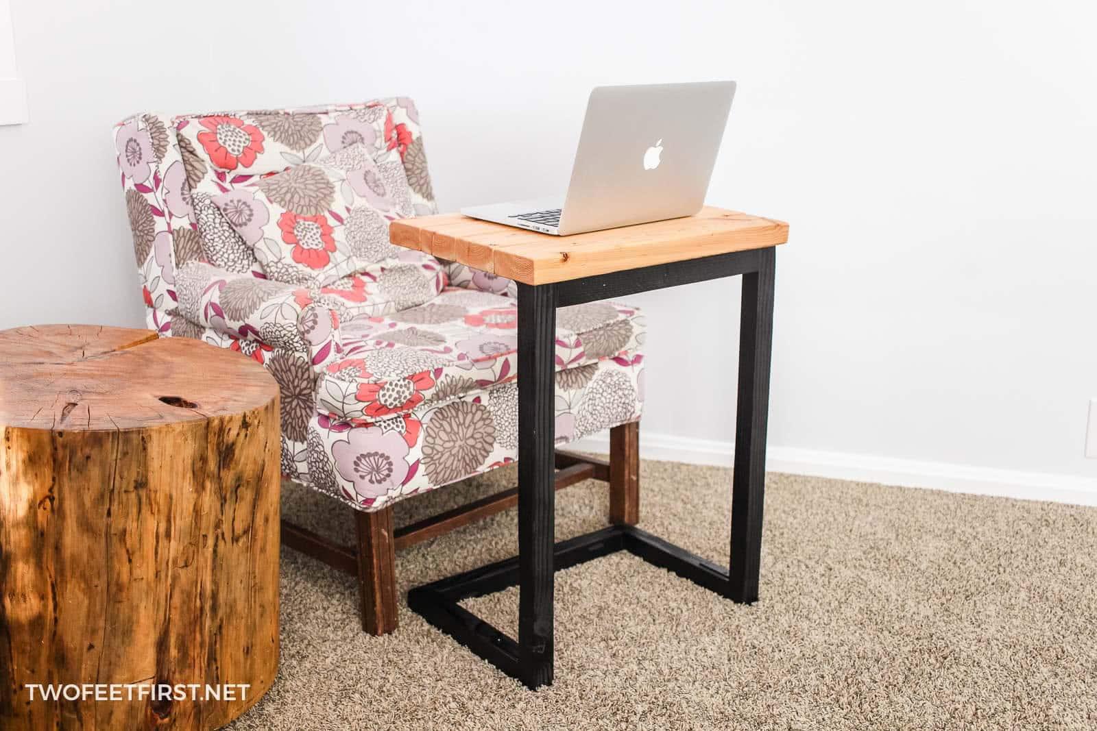 Diy Laptop Sofa Table A Great Gift Idea