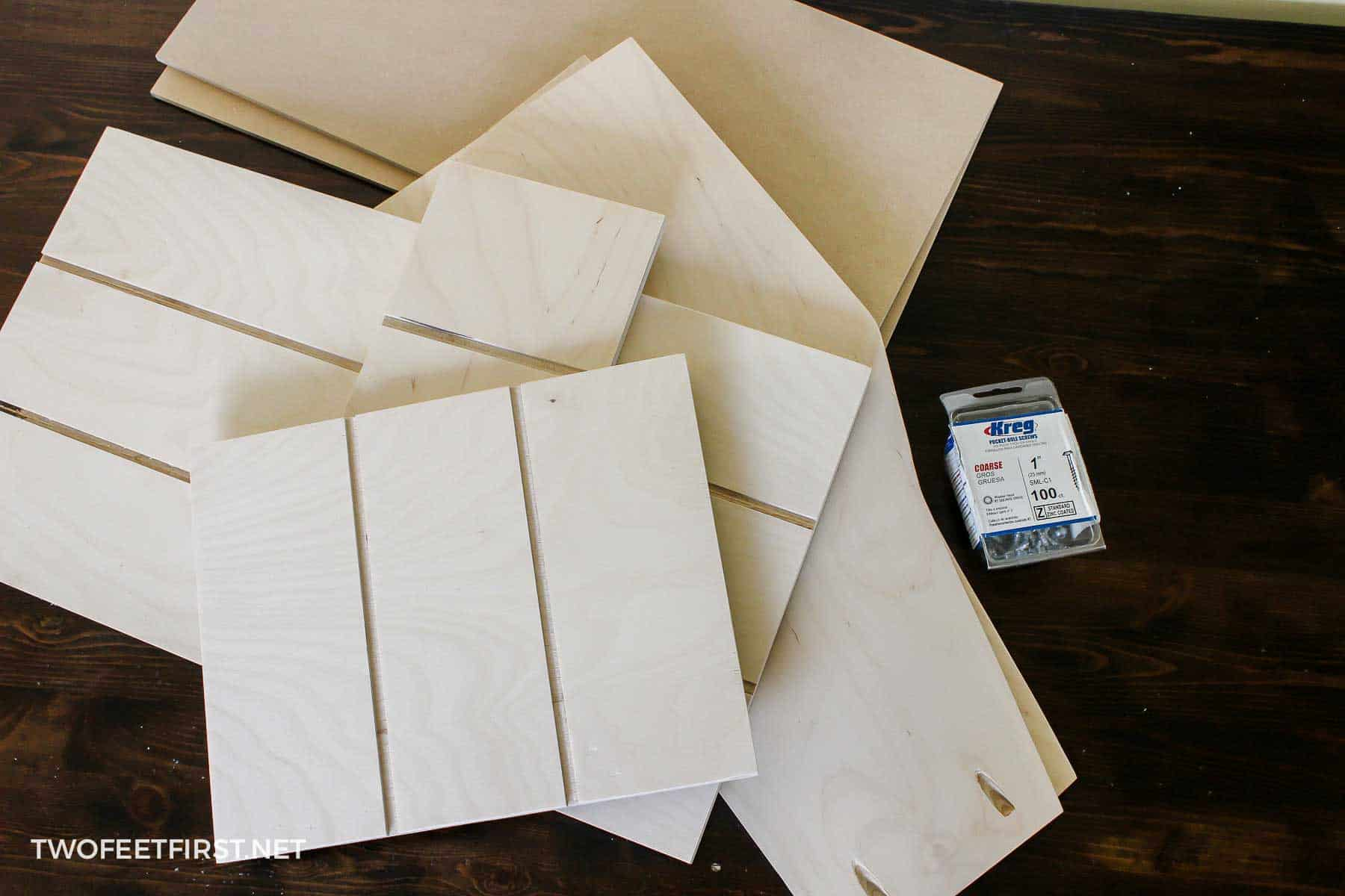 supplies for cookie sheet drawer