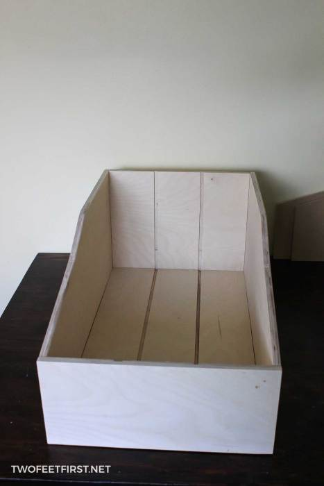 frame of pullout drawer