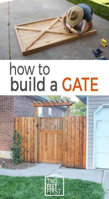 Do you have a fence with a gate? And that gate is looking sad? Well here is the prefect solution on how to build a gate.