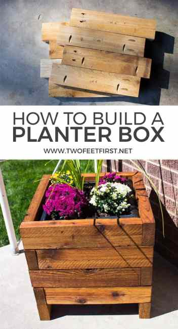 Want to find out how to build a planter box for the porch? Here are some FREE plans!