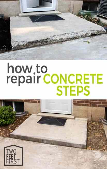 Do you want to improve your homes curb appeal? One way to do this is by repairing concrete steps and here is a tutorial to help.