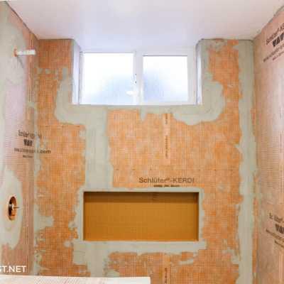 install Schluter Kerdi shower system