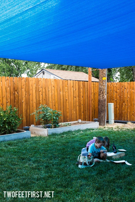 Need more shade? Install a sail shade