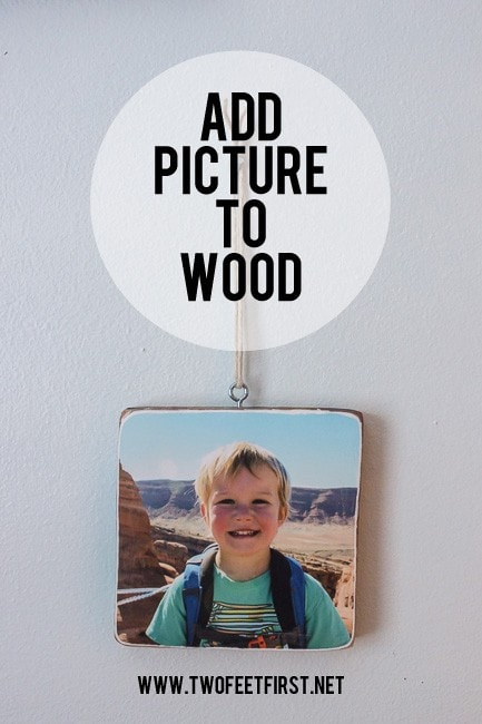 make a wooden ornament