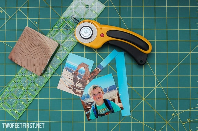 How to Add picture to wood