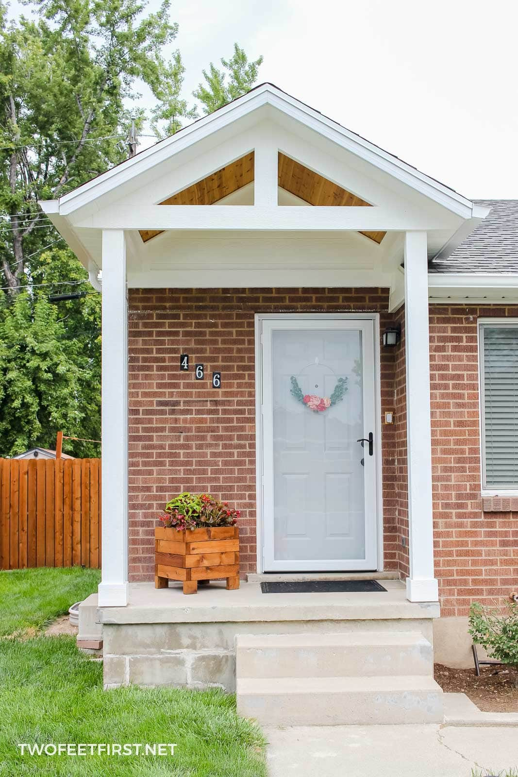 updated homes curb appeal