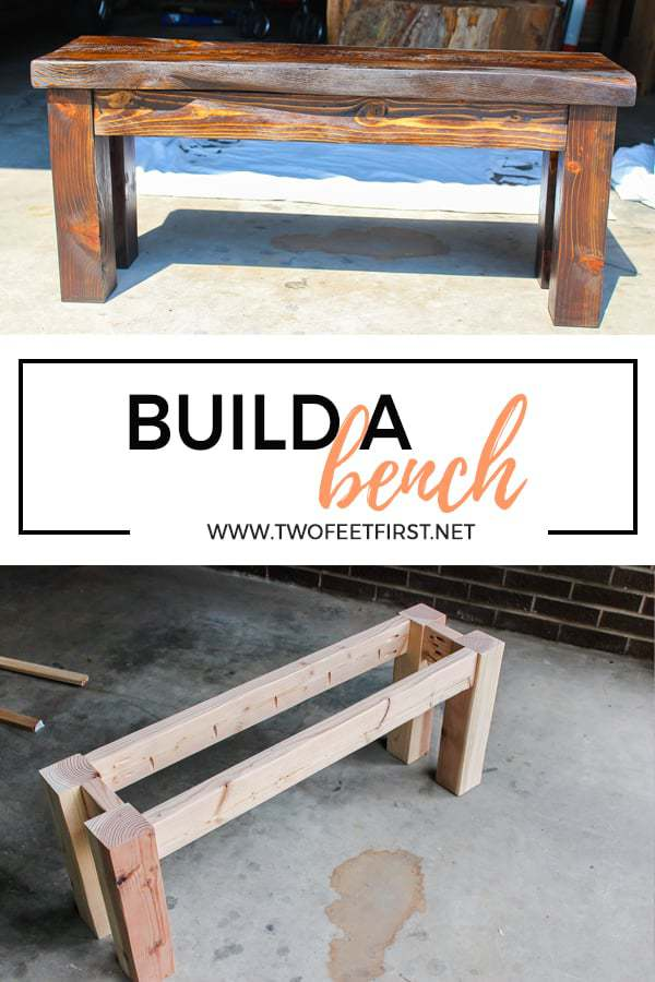 build a wooden bench