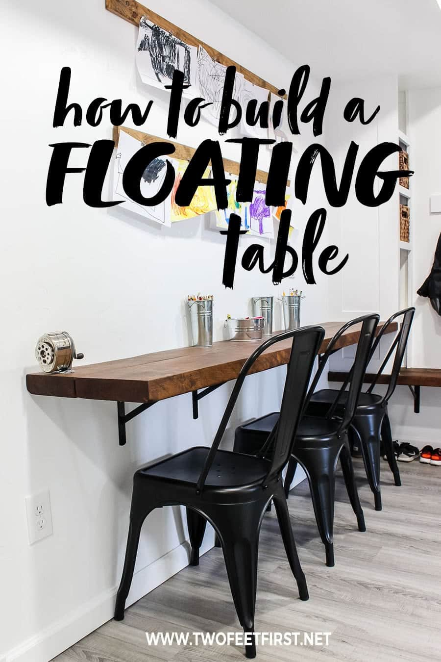 How to build a floating table