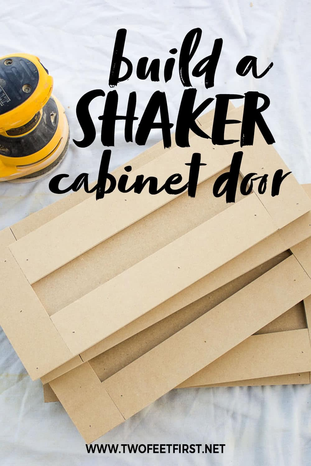 How to build a shaker cabinet door