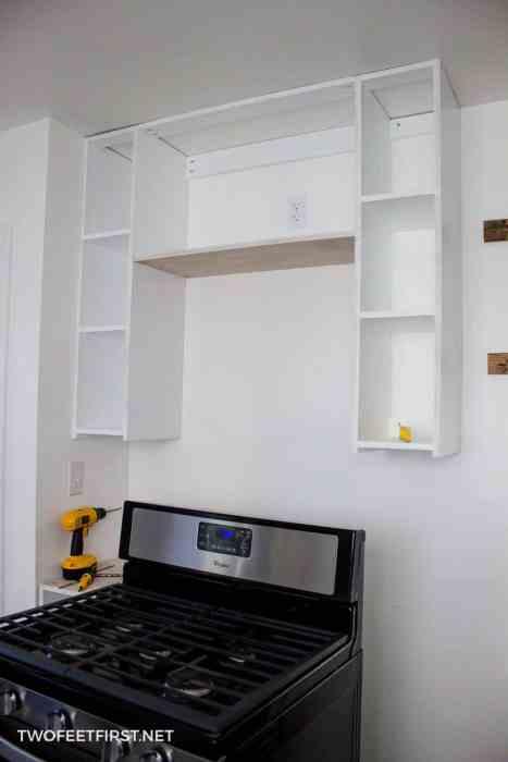 install cabinet frames