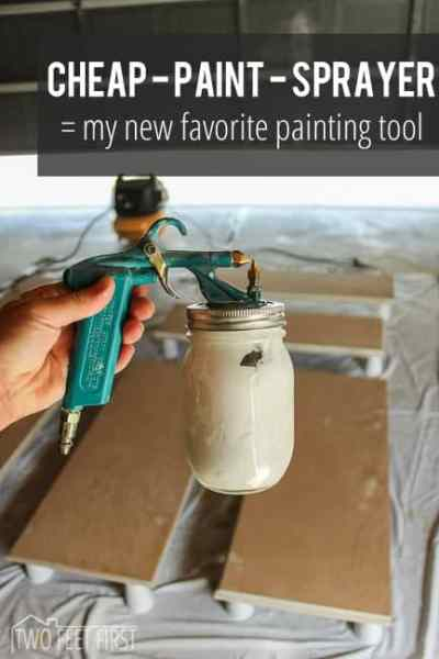 Cheap Paint Sprayer = my new favorite painting tool