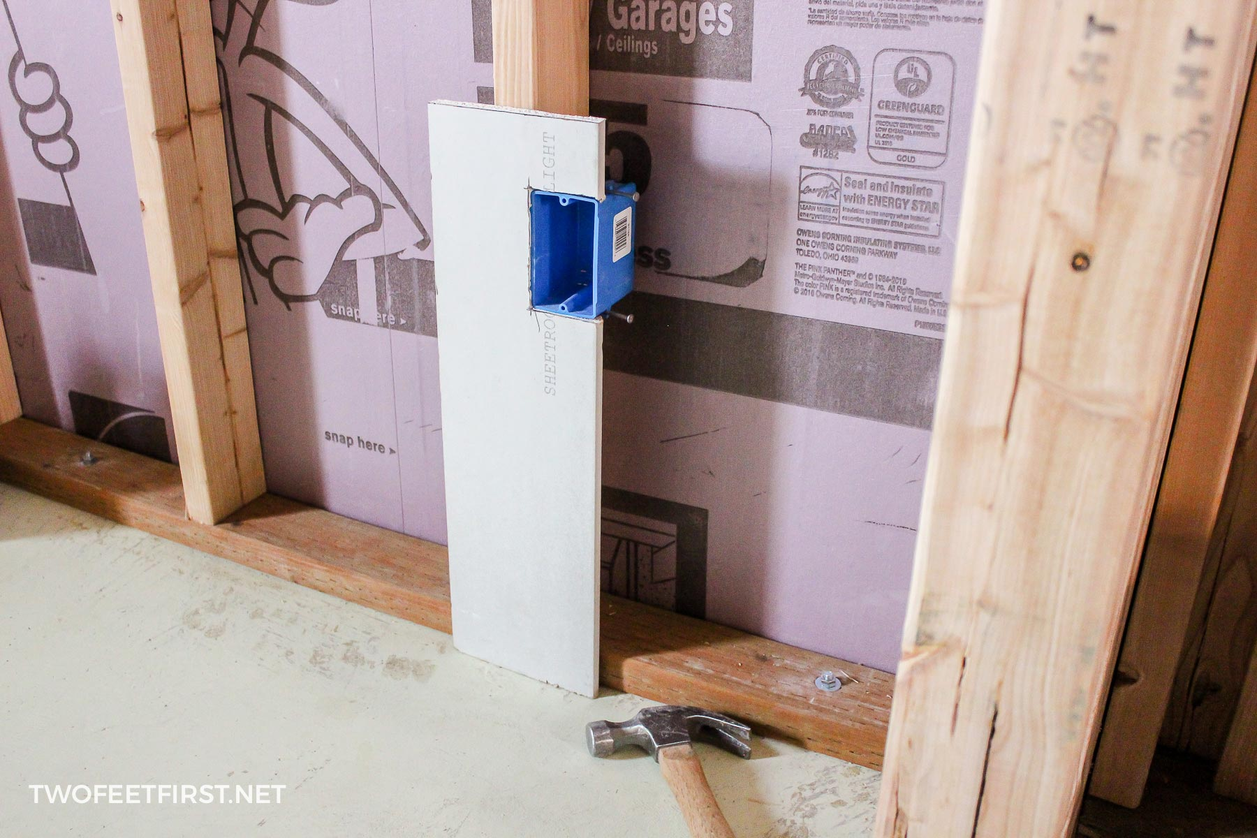 How To Easily Install Outlet Boxes Wiring An Box Easy Way