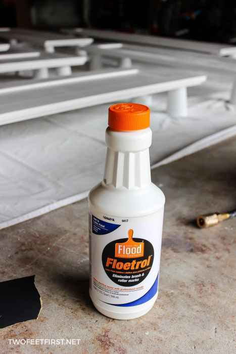 Floetrol for kitchen cabinets