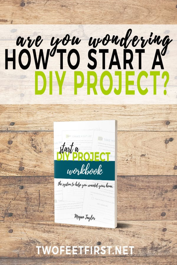start a DIY project workbook