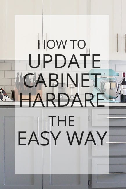 how to update cabinet hardware the easy way with a template