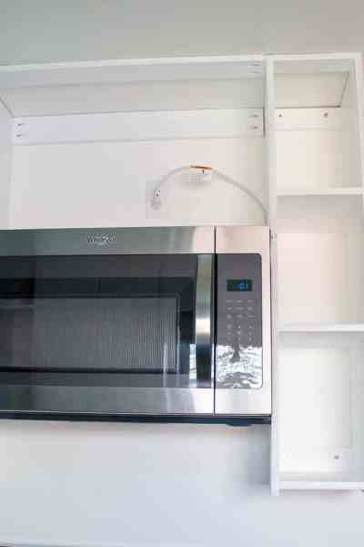 install microwave over-the-range