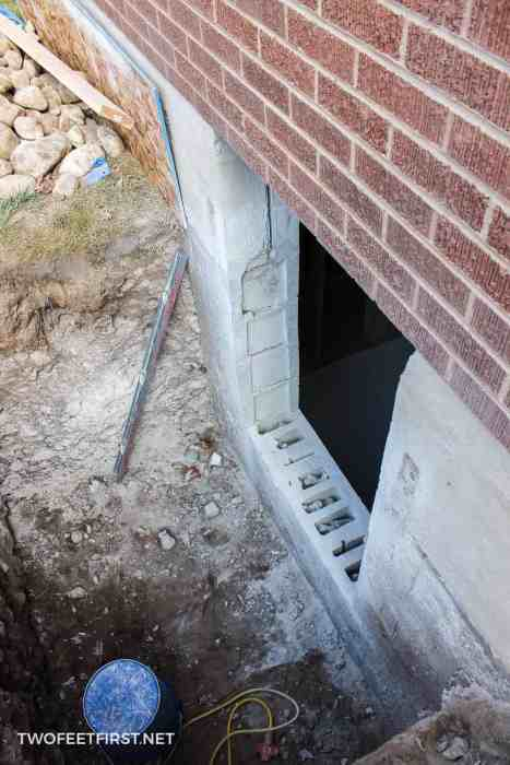 installing egress window