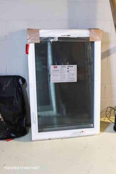 new casement window for basement
