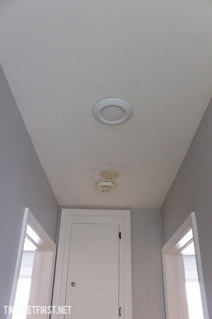 Update regular light to recessed light