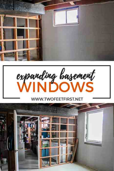 before and after of egress windows