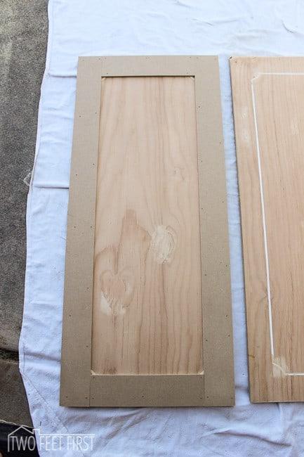 update kitchen cabinets with trim