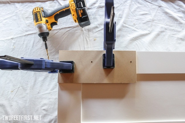 Easy way to add new cabinet hardware