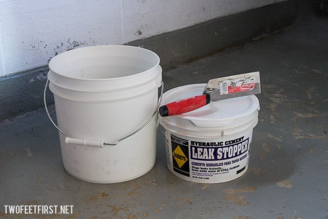 How to waterproof a foundation in a basement. Here is the process we use to fill in cracks in a basement foundation.